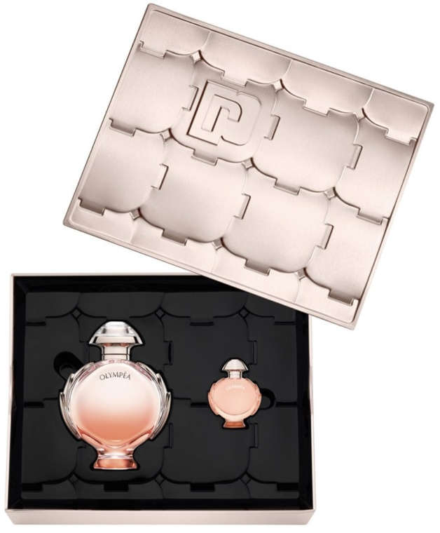 Paco Rabanne Olympea Aqua - Set (edp/80ml + edp/mini/6ml) — Imagine N1