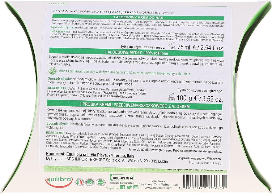 Set - Equilibra Aloe (cr/75ml + soap/100g) — Imagine N5