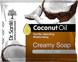 Parfumuri și produse cosmetice Săpun-cremos cu ulei de cocos pentru față - Dr.Sante Cream Soap