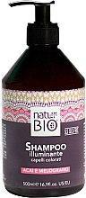 Parfumuri și produse cosmetice Șampon de păr - Renee Blanche Natur Green Bio Illuminante Shampoo