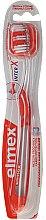 Parfumuri și produse cosmetice Periuță de dinți, oranj, 43613 - Elmex Toothbrush Caries Protection InterX Medium