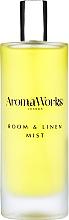 "Parfumuri și produse cosmetice Odorizant de aer ""Busuioc și Lime"" - AromaWorks Light Range Room Mist"