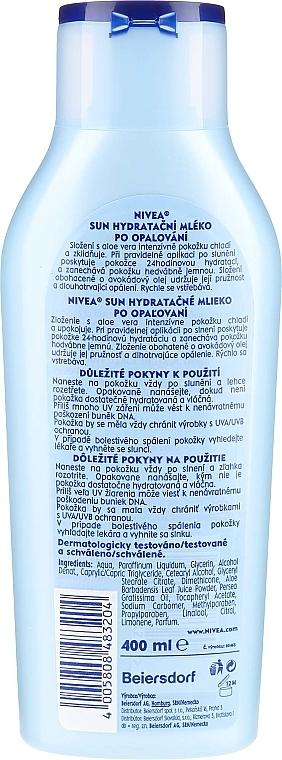 Loțiune hidratantă cu Aloe Vera - Nivea Sun Care — Imagine N2
