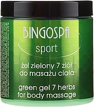 Parfumuri și produse cosmetice Gel SPA pentru masaj - BingoSpa