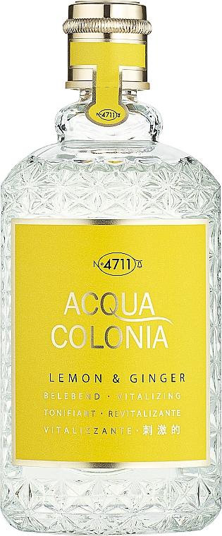 Maurer & Wirtz 4711 Aqua Colognia Lemon & Ginger - Apă de colonie
