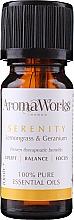 Parfumuri și produse cosmetice Amestec de uleiuri esențiale - AromaWorks Serenity Essential Oil