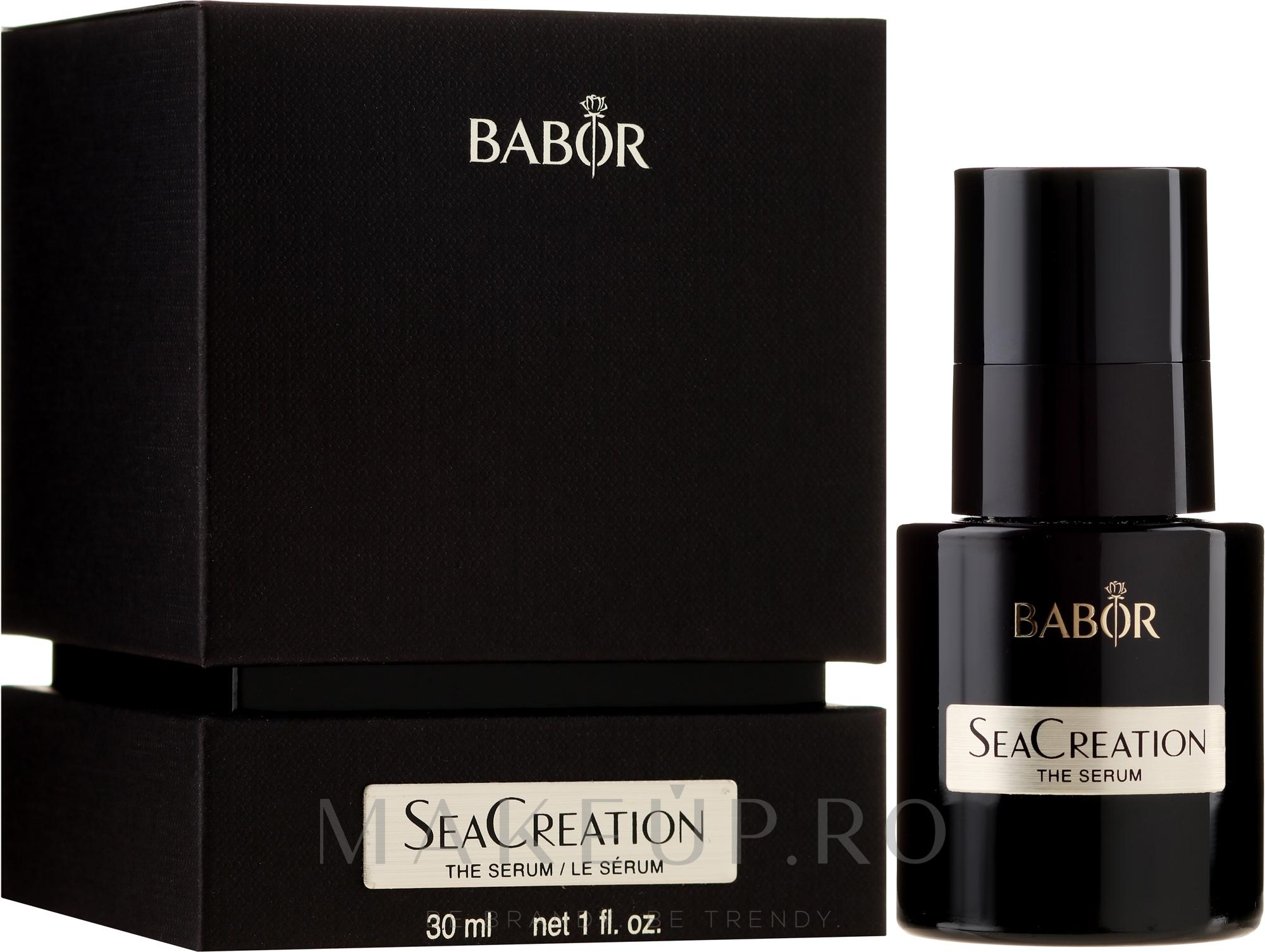 Ser facial - Babor SeaCreation The Serum — Imagine 30 ml
