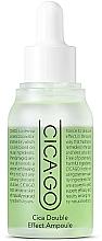 Parfumuri și produse cosmetice Ser revitalizant pentru față - Isoi CICAGO Cica Double Effect Ampoule