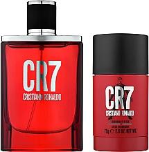 Parfumuri și produse cosmetice Cristiano Ronaldo CR7 - Set (edt/50ml + deo/stick/75g)