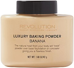 Parfumuri și produse cosmetice Pudră pulbere - Makeup Revolution Luxury Baking Powder Banana