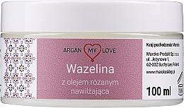 Parfumuri și produse cosmetice Vaselină cu ulei de trandafir pentru față și corp - Argan My Love