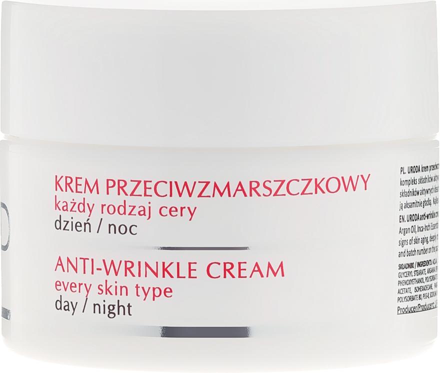Cremă antirid pentru toate tipurile de ten - Uroda Anti-Wrinkles Face Cream For All Skin Day Night