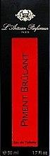 L'Artisan Parfumeur Piment Brulant - Apă de toaletă — Imagine N4