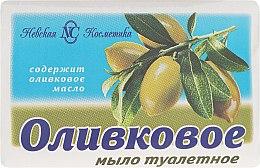 """Parfumuri și produse cosmetice Săpun de toaletă """"Olive"""" - Cosmetică Nevskaya"""