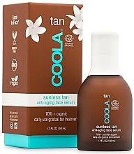 Parfumuri și produse cosmetice Ser pentru față - Coola Sunless Tan Anti-Aging Face Serum