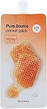 Parfumuri și produse cosmetice Mască de noapte cu extract de miere pentru față - Missha Pure Source Pocket Pack Honey