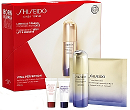 Parfumuri și produse cosmetice Set - Shiseido Vital Perfection (eye/cr/15ml + conc/5ml + cr/5ml + mask/1pcs)