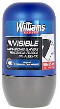 Parfumuri și produse cosmetice Deodorant Roll-On - Williams Expert Ice Blue Roll-On Anti-Perspirant