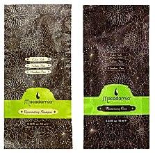 Parfumuri și produse cosmetice Set - Macadamia Natural Oil (sh/10ml + cond/10ml)