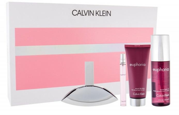 Calvin Klein Euphoria - Set (edp/100ml + edp/10ml + b/l/100ml + b/mist/150ml) — Imagine N1