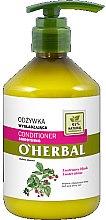 Parfumuri și produse cosmetice Balsam cu extract de zmeură pentru păr - O'Herbal