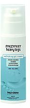 Parfumuri și produse cosmetice Cremă-gel pentru picioare obosite - Frezyderm Frezyfeet Heavy Legs Refreshing gel-cream
