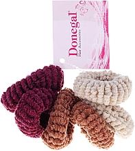 Parfumuri și produse cosmetice Elastice de păr, FA-5828, 6 bucăți - Donegal