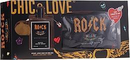 Parfumuri și produse cosmetice Chic&Love Rock - Set (edt/100ml + bag)