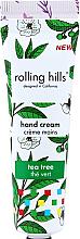 """Parfumuri și produse cosmetice Cremă de mâini """"Arbore de ceai"""" - Rolling Hills Tea Tree Hand Cream"""