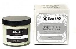"Parfumuri și produse cosmetice Lumânare parfumată ""Vanilie"" - Eco Life Candles"