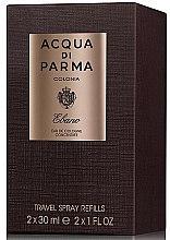 Parfumuri și produse cosmetice Acqua di Parma Colonia Ebano Travel Spray Refills - Apă de colonie