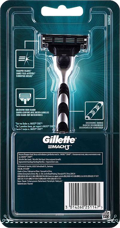 Aparat de ras - Gillette MACH3 — Imagine N2