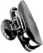 Parfumuri și produse cosmetice Agrafă de păr 204, neagră - Moliabal Milano Hair Clip