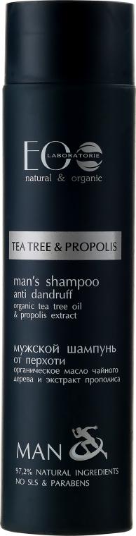 Șampon împotriva mătreții - ECO Laboratorie Man's Shampoo Tee Tree & Propolis
