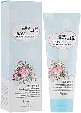 Parfumuri și produse cosmetice Spumă de curățare pentru față - Esfolio Pure Skin Rose Cleansing Foam