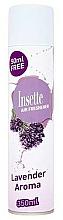 """Parfumuri și produse cosmetice Odorizant de aer """"Lavandă"""" - Insette Air Freshener Lavender Aroma Spray"""