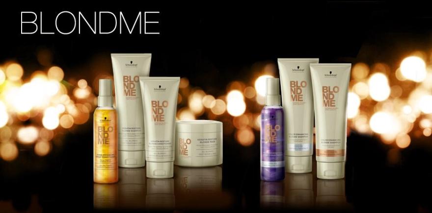 Șampon pentru nuanțe calde - Schwarzkopf Professional Blondme Color Enhancing Rich Caramel Warm Blond Shampoo — Imagine N2