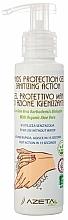 Parfumuri și produse cosmetice Gel antiseptic cu Aloe Vera pentru mâini - Azeta Bio Hands Protection Gel Sanitizing Action