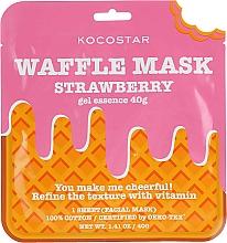 """Parfumuri și produse cosmetice Mască de țesut """"Căpșuni"""" - Kocostar Strawberry Waffle Mask"""