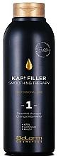 Parfumuri și produse cosmetice Șampon pentru îndreptarea părului Nr. 1 - Salerm Kaps Filler Smoothing Therapy Shampoo