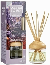 """Parfumuri și produse cosmetice Difuzor de aromă """"Lavandă și stejar"""" - Yankee Candle Dried Lavender & Oak Reed Diffuser"""