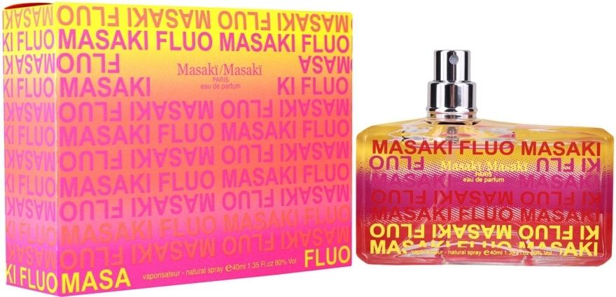 Masaki Matsushima Fluo - Apă de parfum (tester fără capac) — Imagine N1