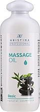 Parfumuri și produse cosmetice Ulei pentru masaj corporal - Hristina Professional Basic Massage Oil