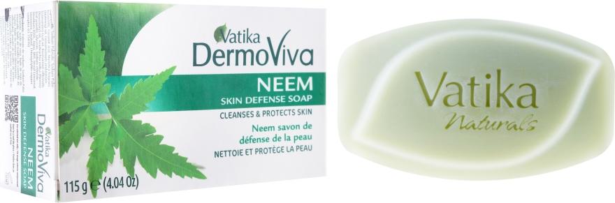 Săpun antibacterian cu extract de neem - Dabur Vatika Neem Soap