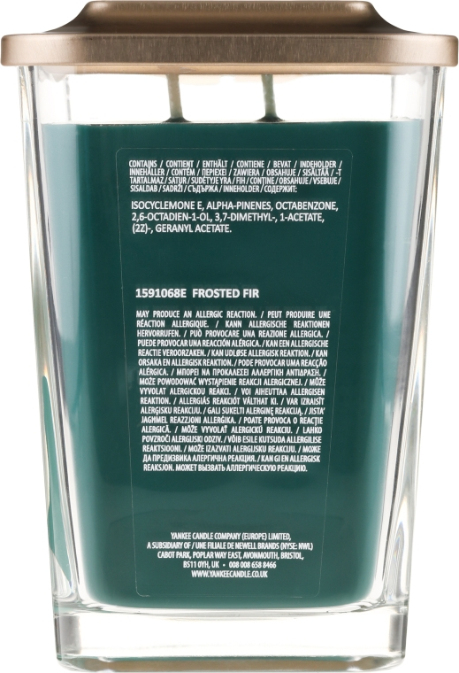Lumânare aromată - Yankee Candle Elevation Frosted Fir — Imagine N2