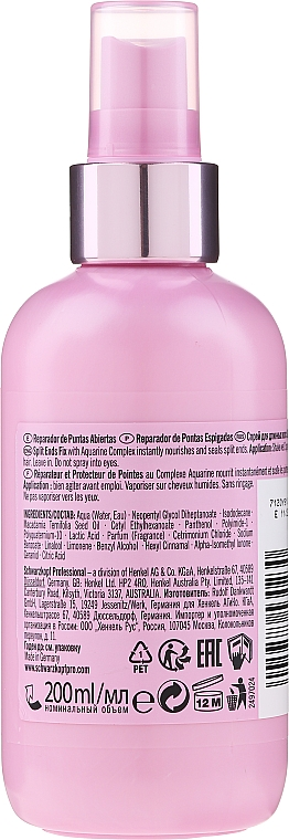 Spray pentru capete uscate și despicate, păr lung - Schwarzkopf Professional Mad About Lengths Split Ends Fix — Imagine N2