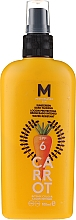 Parfumuri și produse cosmetice Cremă de protecție solară pentru bronz intens - Mediterraneo Sun Carrot Sunscreen Dark Tanning SPF6