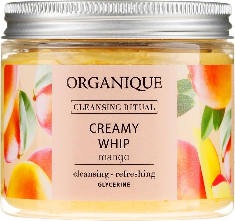"Spumă-mousse de corp ""Mango"" - Organique Cleansing Ritual Creamy Whip Mango — Imagine N3"