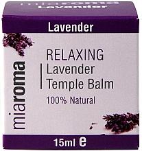 Parfumuri și produse cosmetice Balsam cu ulei esențial de lavandă pentru față - Holland & Barrett Miaroma Relaxing Lavender Temple Balm