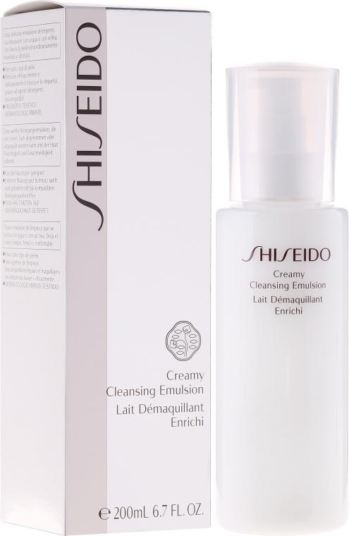 Emulsie demachiantă - Shiseido Creamy Cleansing Emulsion — Imagine N1